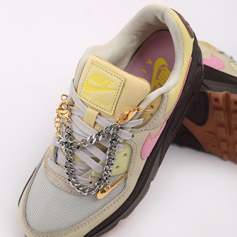 женские бежевые  кроссовки nike wmns air max 90 CZ0469-200 - цена, описание, фото 5