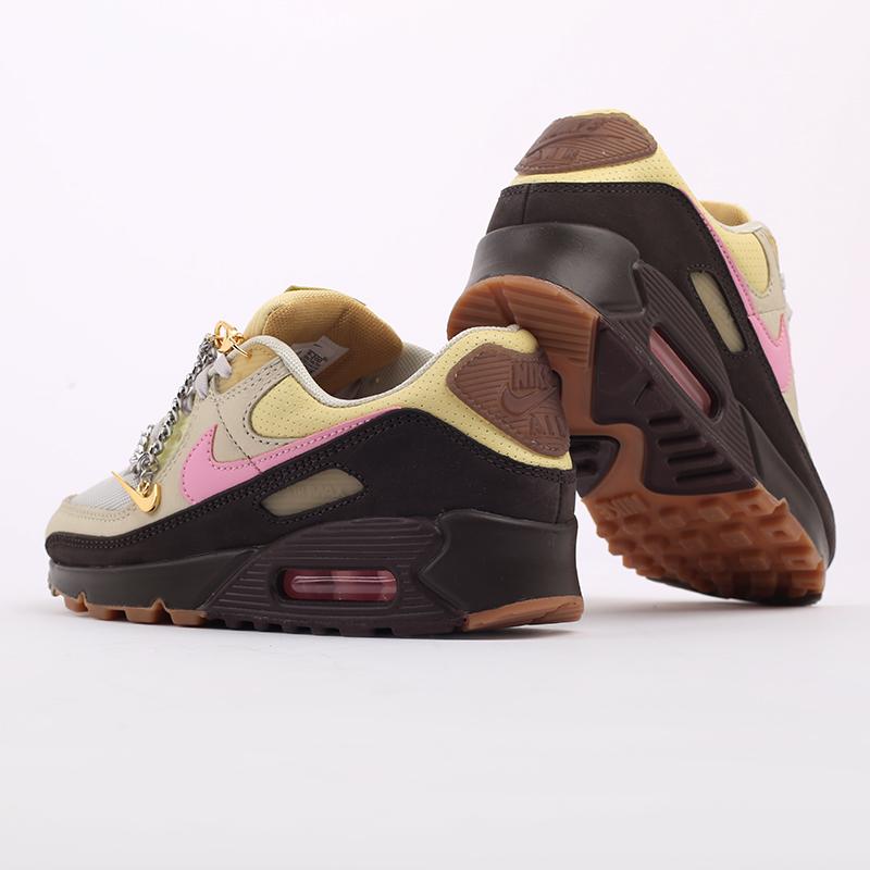 женские бежевые  кроссовки nike wmns air max 90 CZ0469-200 - цена, описание, фото 4