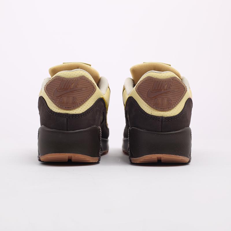женские бежевые  кроссовки nike wmns air max 90 CZ0469-200 - цена, описание, фото 3