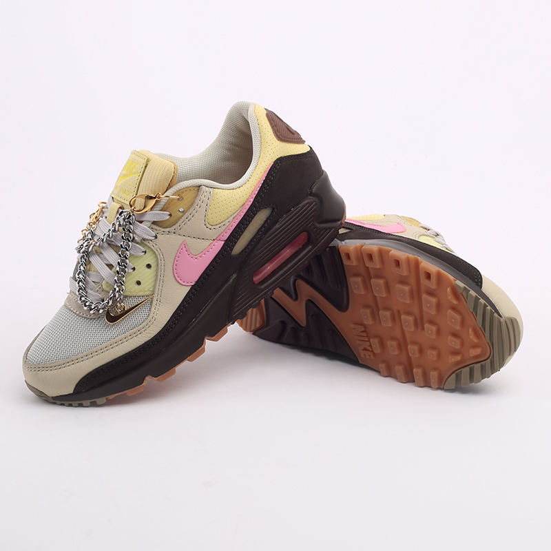 женские бежевые  кроссовки nike wmns air max 90 CZ0469-200 - цена, описание, фото 7