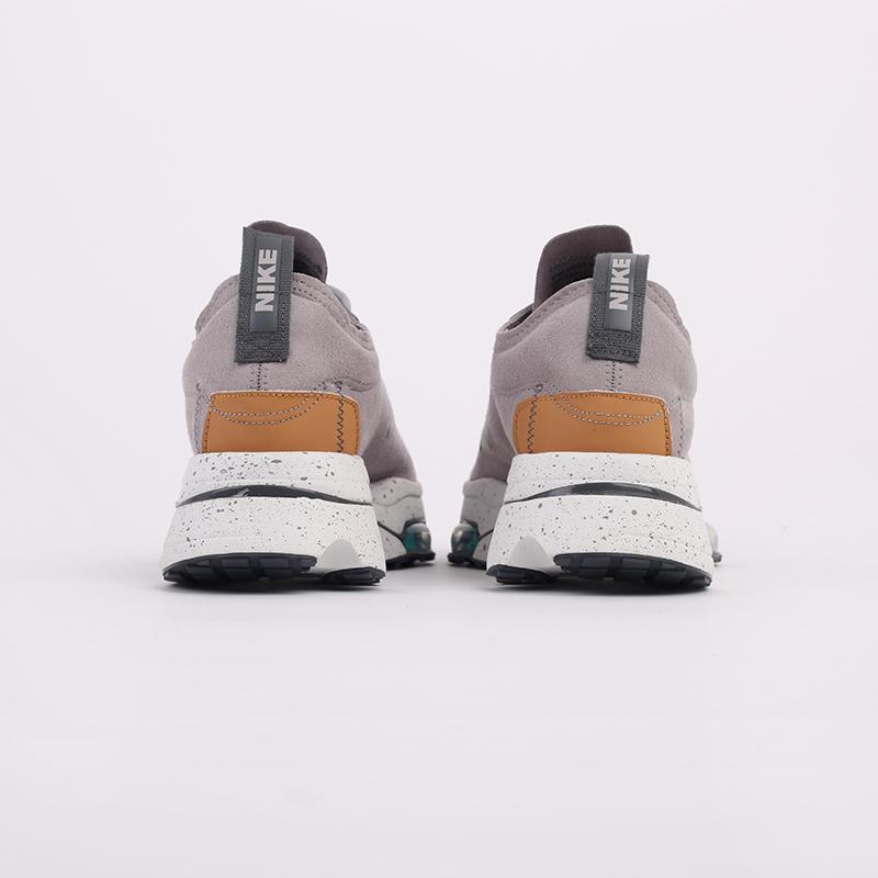 мужские серые  кроссовки nike air zoom-type CJ2033-002 - цена, описание, фото 5