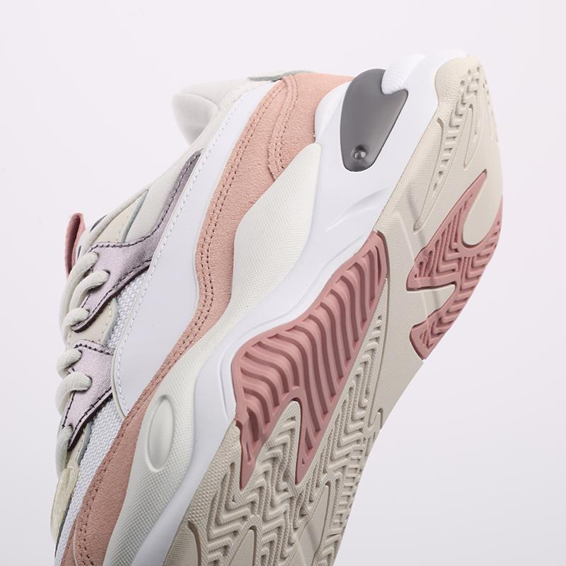 женские белые  кроссовки puma rs-2k soft metal wn's 37466601 - цена, описание, фото 6