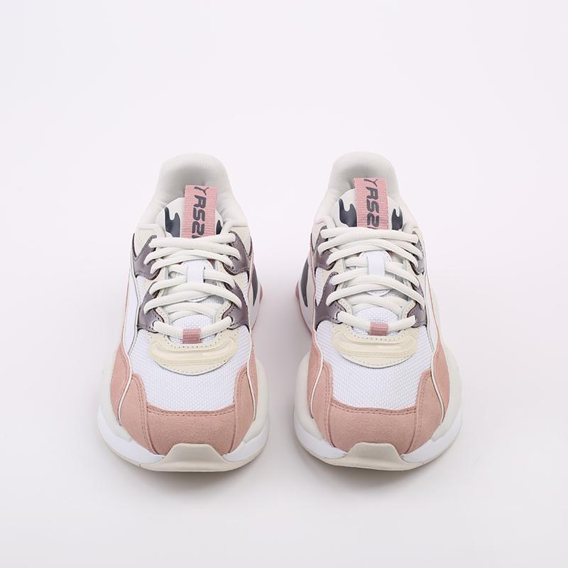 женские белые  кроссовки puma rs-2k soft metal wn's 37466601 - цена, описание, фото 4