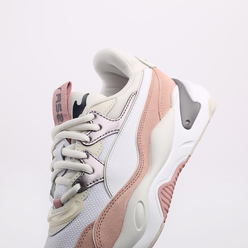 женские белые  кроссовки puma rs-2k soft metal wn's 37466601 - цена, описание, фото 7