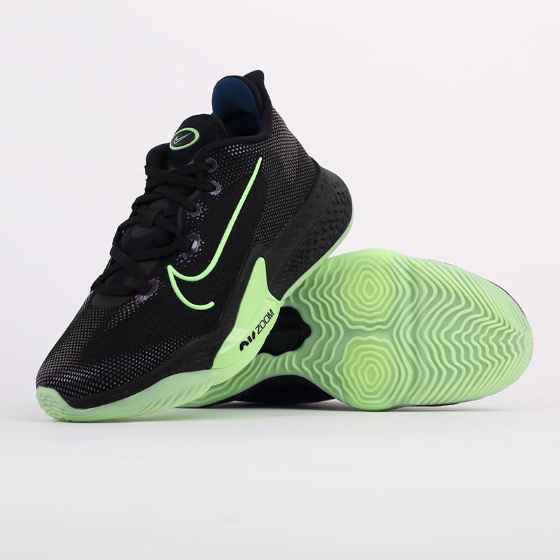 мужские черные  кроссовки nike air zoom bb nxt CK5707-001 - цена, описание, фото 7