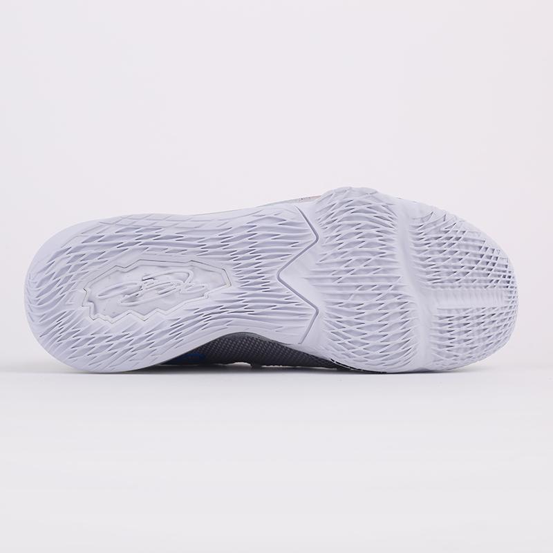 серые  кроссовки nike lebron xvii low CD5007-004 - цена, описание, фото 8