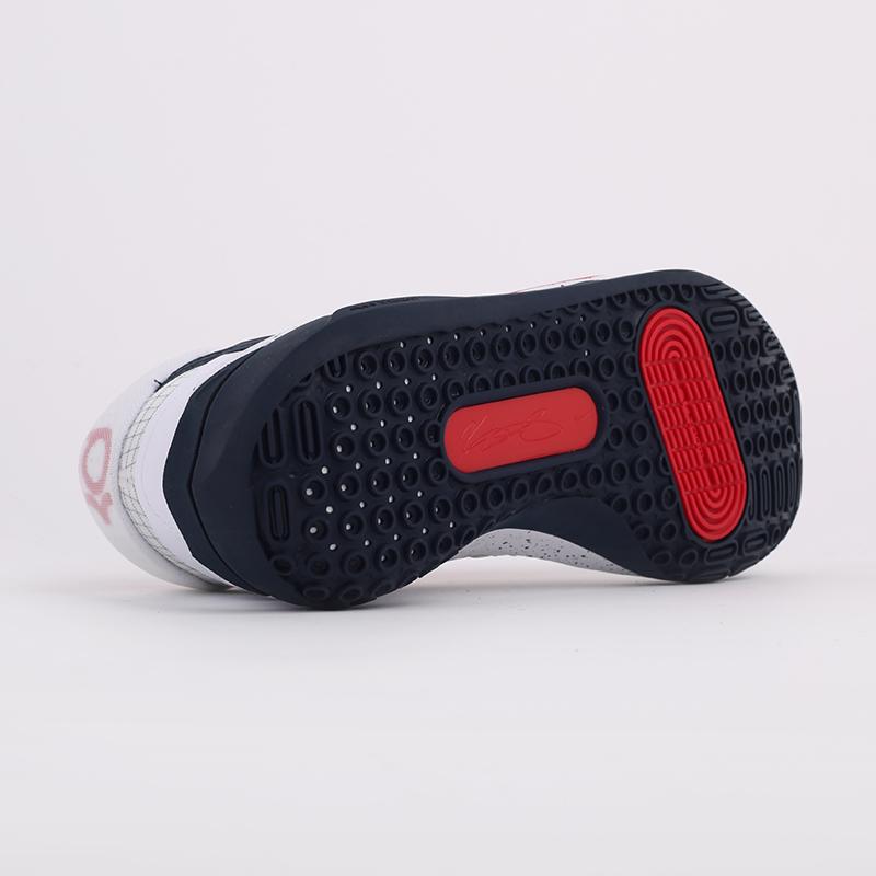 мужские белые  кроссовки nike kd13 CI9948-101 - цена, описание, фото 8