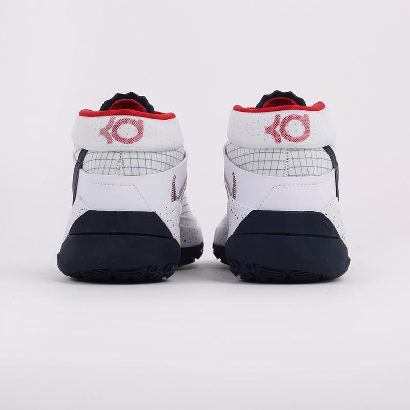 мужские белые  кроссовки nike kd13 CI9948-101 - цена, описание, фото 3