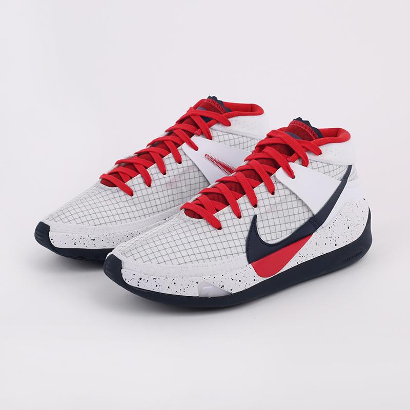 мужские белые  кроссовки nike kd13 CI9948-101 - цена, описание, фото 5