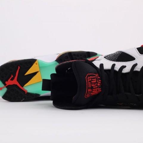 мужские черные, белые  кроссовки jordan 7 retro gc CW2805-160 - цена, описание, фото 9
