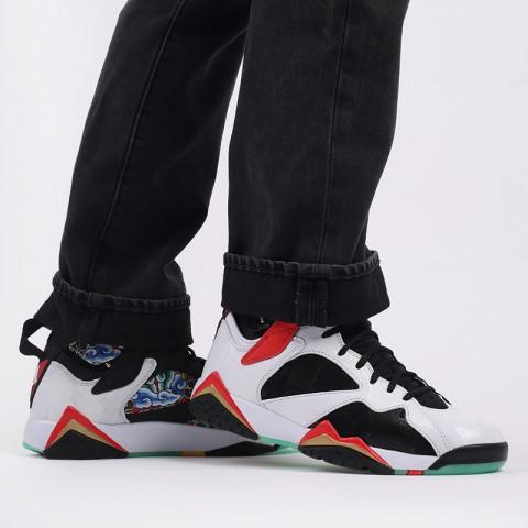 мужские черные, белые  кроссовки jordan 7 retro gc CW2805-160 - цена, описание, фото 10