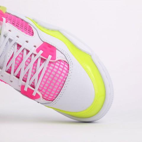 женские белые  кроссовки jordan 4 retro se (gs) CV7808-100 - цена, описание, фото 6