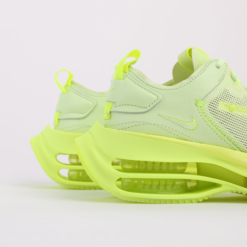 женские зелёные  кроссовки nike wmns zoom double stacked CI0804-700 - цена, описание, фото 5