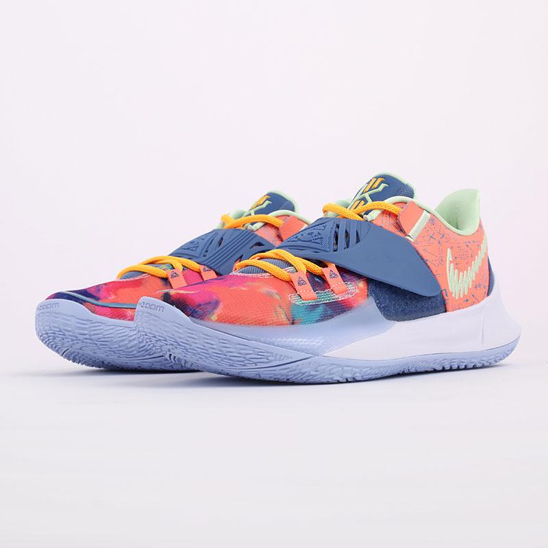 мужские разноцветные  кроссовки nike kyrie low 3 CJ1286-600 - цена, описание, фото 2