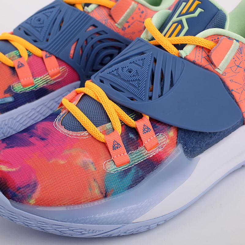 мужские разноцветные  кроссовки nike kyrie low 3 CJ1286-600 - цена, описание, фото 5
