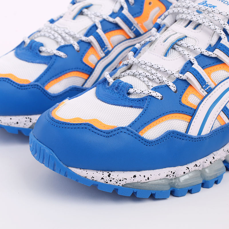 мужские синие  кроссовки asics gel-nandi 360 1021A325-100 - цена, описание, фото 3