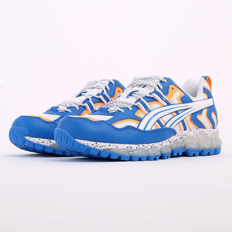 мужские синие  кроссовки asics gel-nandi 360 1021A325-100 - цена, описание, фото 2