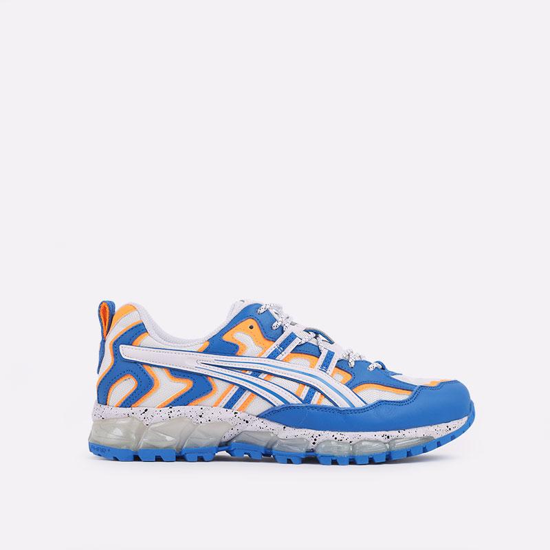 мужские синие  кроссовки asics gel-nandi 360 1021A325-100 - цена, описание, фото 1