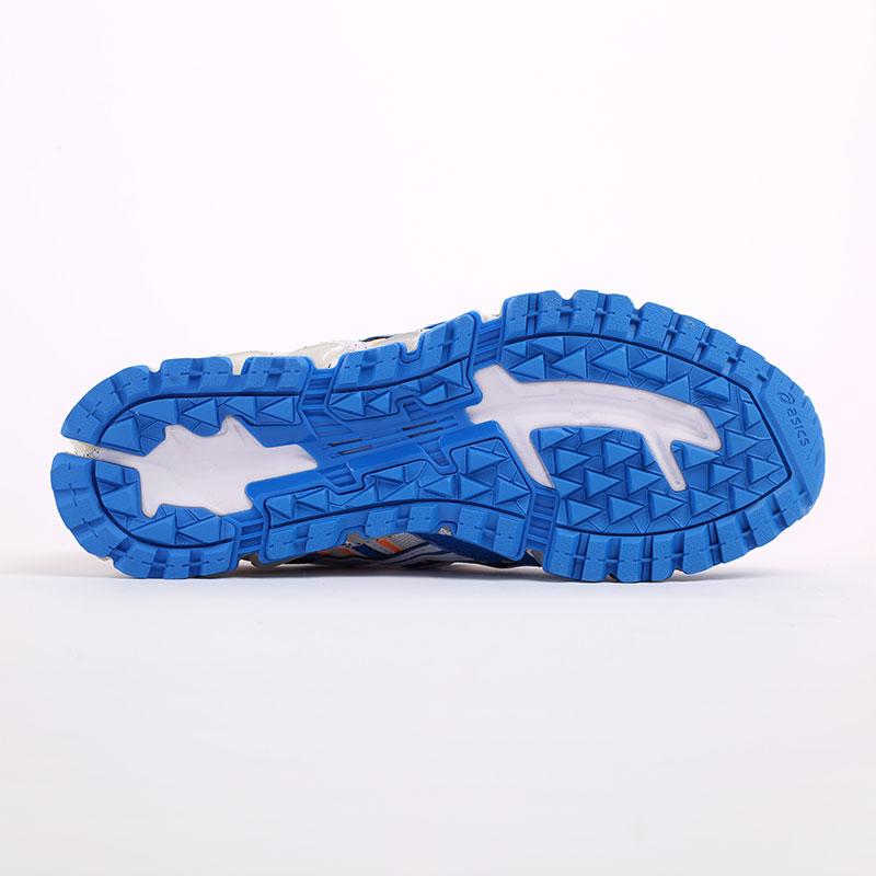 мужские синие  кроссовки asics gel-nandi 360 1021A325-100 - цена, описание, фото 8