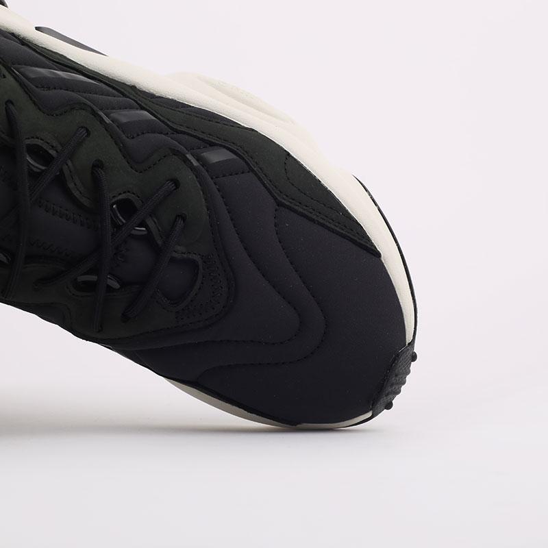 мужские черные  кроссовки adidas ozweego FV9668 - цена, описание, фото 5