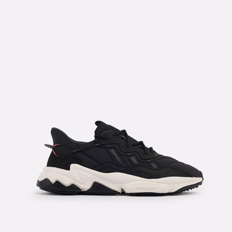 мужские черные  кроссовки adidas ozweego FV9668 - цена, описание, фото 1