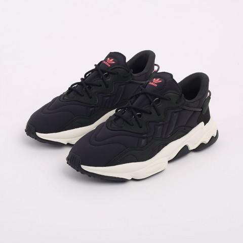 мужские черные  кроссовки adidas ozweego FV9668 - цена, описание, фото 6