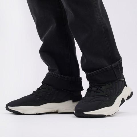 мужские черные  кроссовки adidas ozweego FV9668 - цена, описание, фото 8