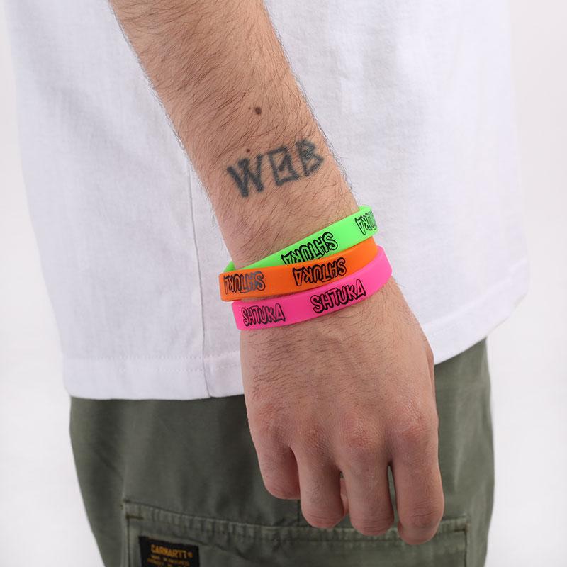 разноцветный  резиновые браслеты sneakerhead shtuka bracers sa2020* - цена, описание, фото 1