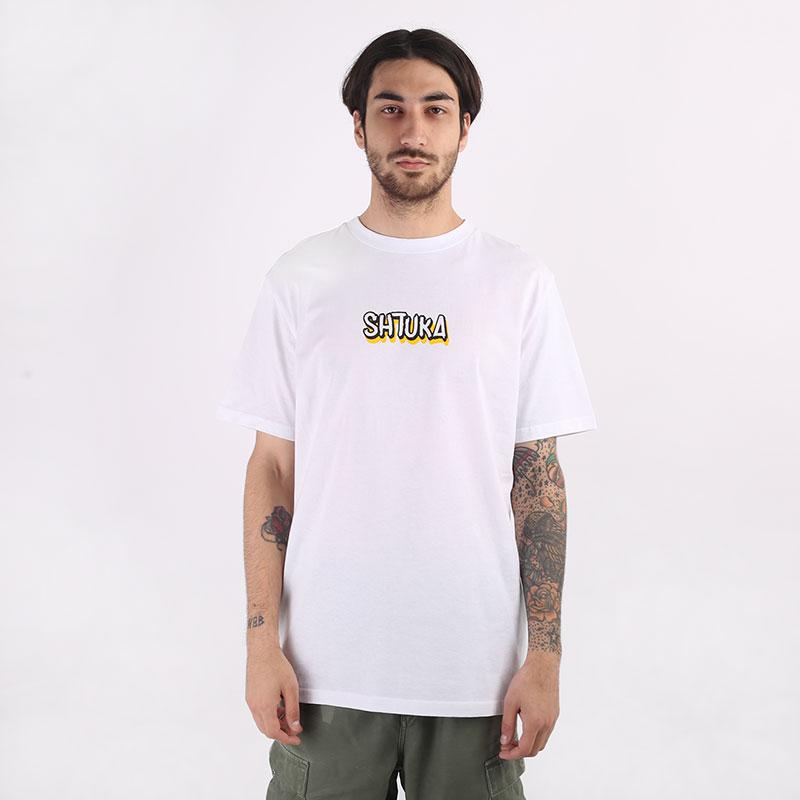 мужскую белую  футболка sneakerhead shtuka 1000 Sa-1000-white - цена, описание, фото 3