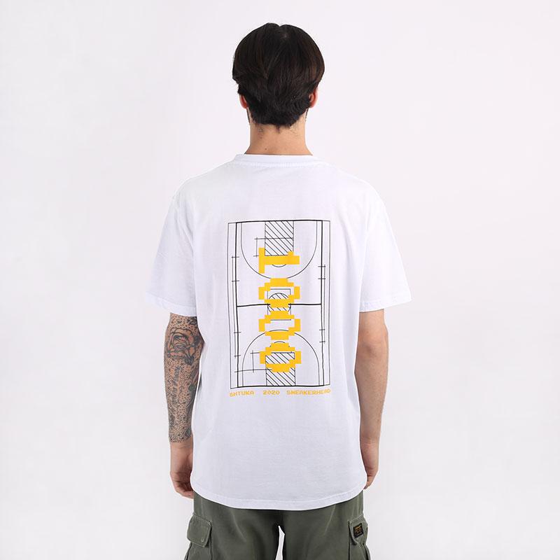 мужскую белую  футболка sneakerhead shtuka 1000 Sa-1000-white - цена, описание, фото 1