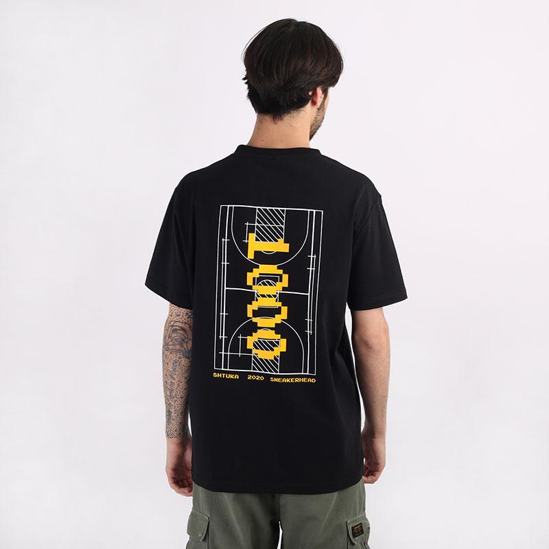 мужскую черную  футболка sneakerhead shtuka 1000 Sa-1000-black - цена, описание, фото 1