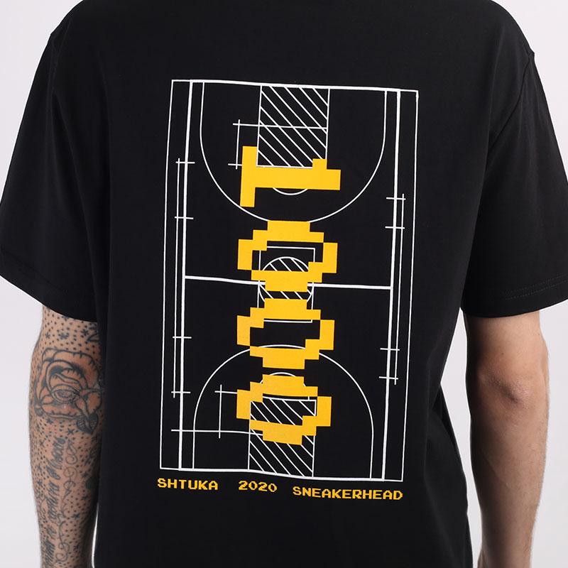 мужскую черную  футболка sneakerhead shtuka 1000 Sa-1000-black - цена, описание, фото 2
