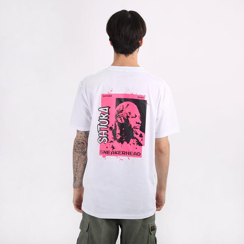 мужскую белую  футболка sneakerhead shtuka rodman Sa-Rodman-white - цена, описание, фото 1