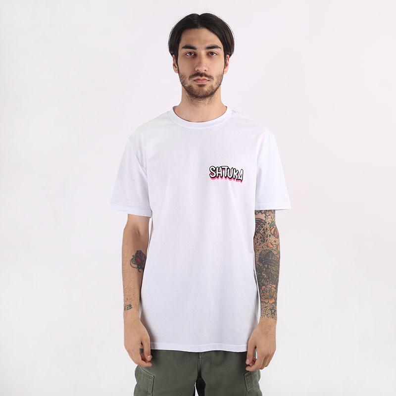 мужскую белую  футболка sneakerhead shtuka rodman Sa-Rodman-white - цена, описание, фото 3