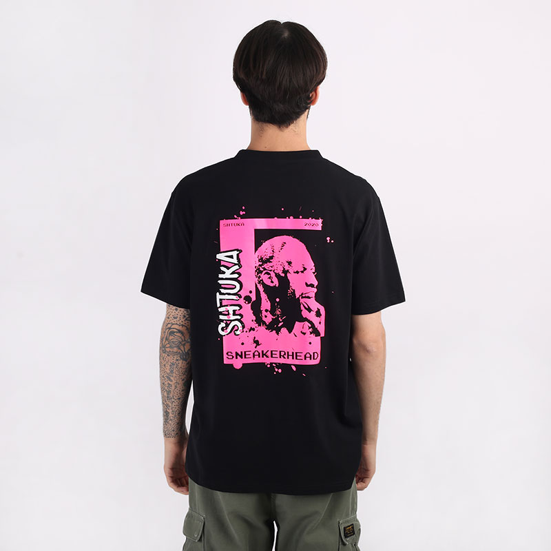 мужскую черную  футболка sneakerhead shtuka rodman Sa-Rodman-black - цена, описание, фото 1
