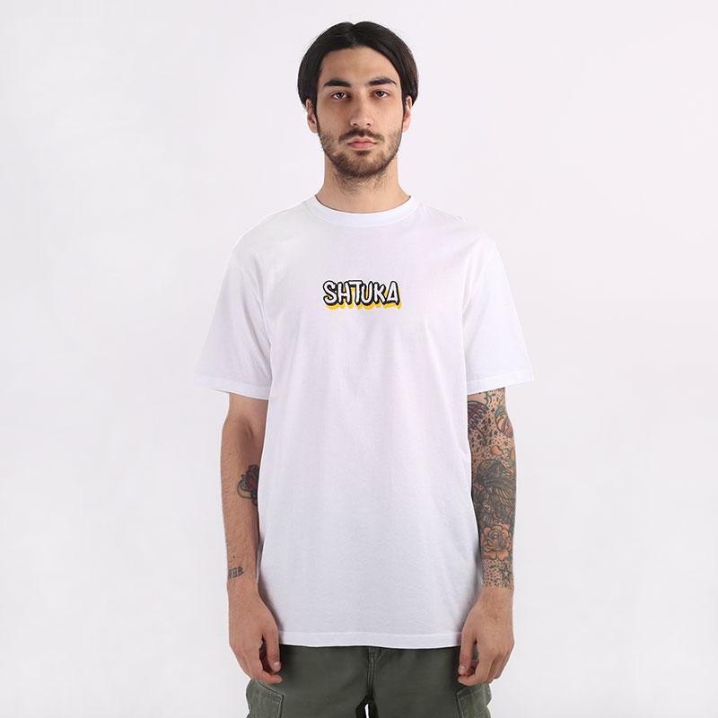 мужскую белую  футболка sneakerhead shtuka puma Sa-puma-white - цена, описание, фото 3
