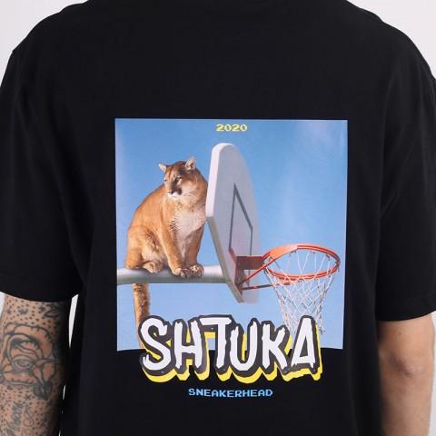 мужскую черную  футболка sneakerhead shtuka puma Sa-puma-black - цена, описание, фото 2
