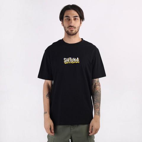 мужскую черную  футболка sneakerhead shtuka puma Sa-puma-black - цена, описание, фото 3