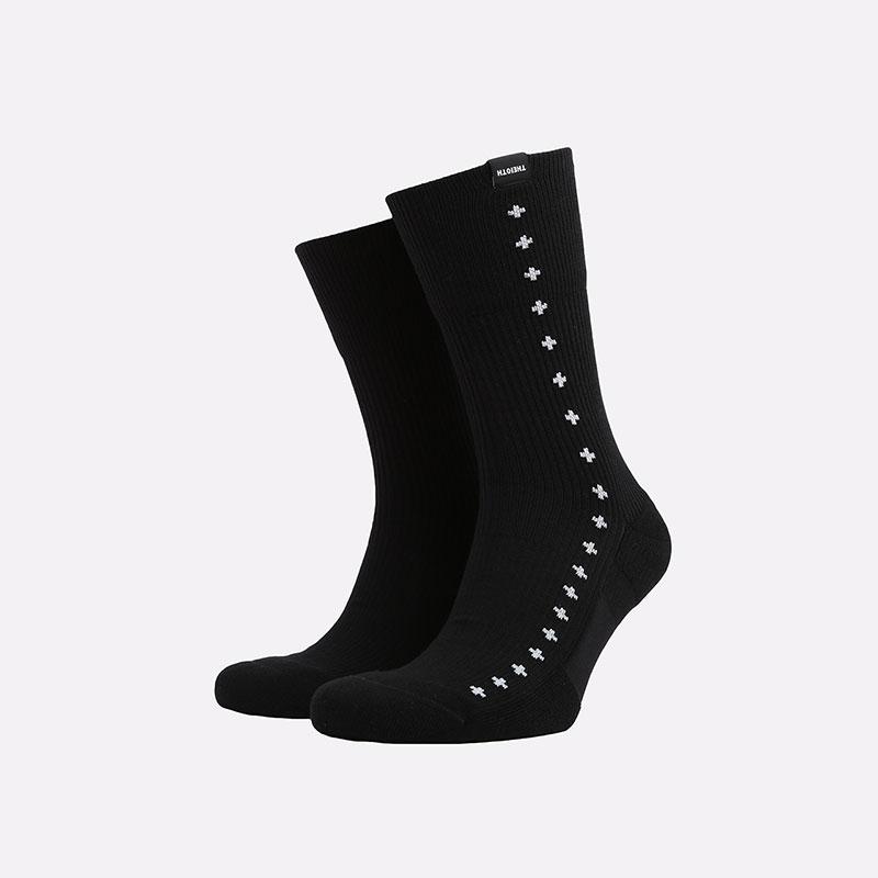 мужские черные  носки nike sneakr sox CK5606-010 - цена, описание, фото 1