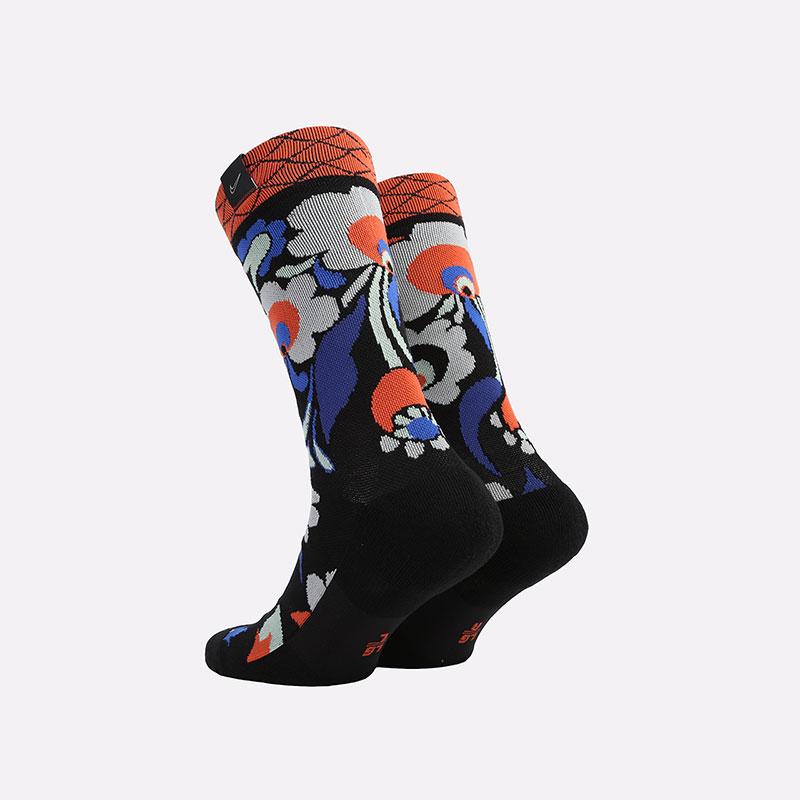 мужские черные  носки nike snkr sox city exploration east CK6768-010 - цена, описание, фото 2