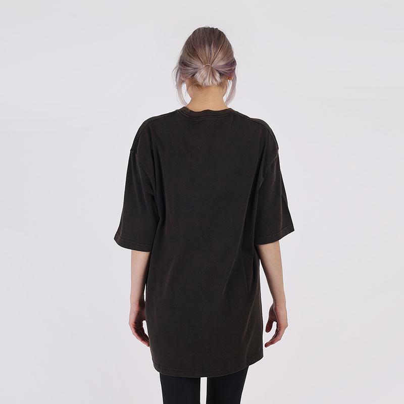 женскую чёрную  футболка jordan utility t-shirt CV7443-010 - цена, описание, фото 2