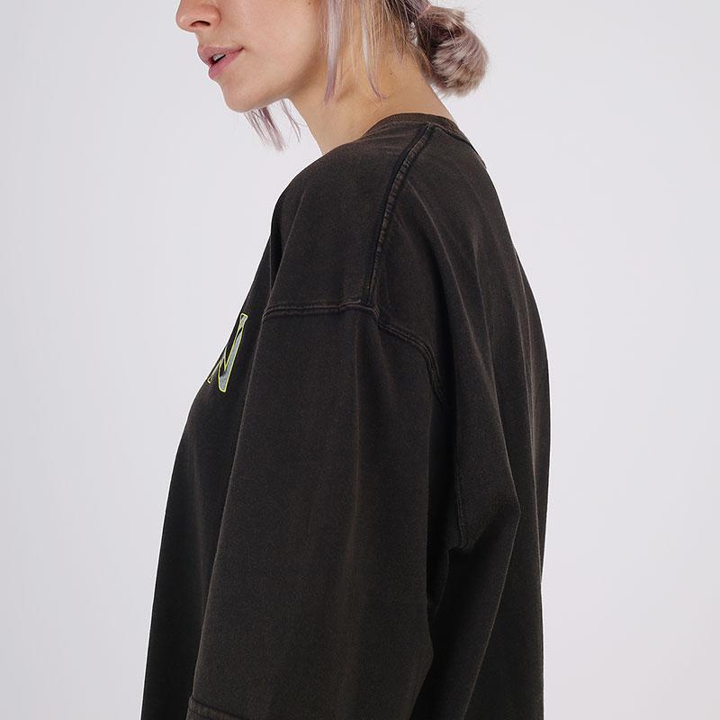 женскую чёрную  футболка jordan utility t-shirt CV7443-010 - цена, описание, фото 4