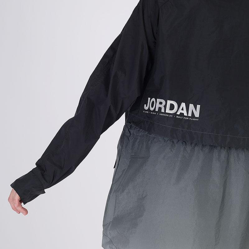женскую чёрную  ветровка jordan windbreaker CU6319-010 - цена, описание, фото 7