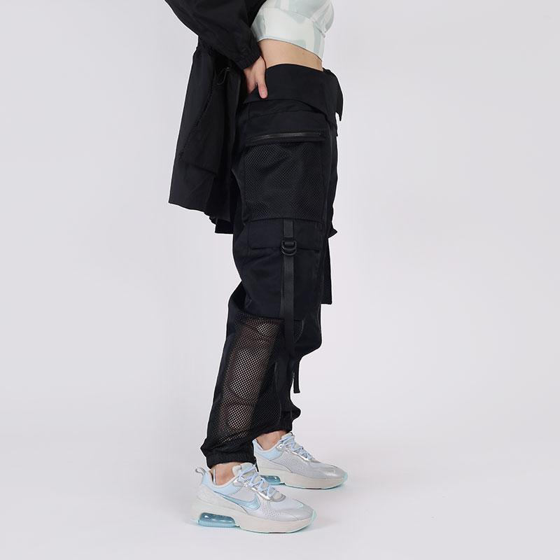 женские чёрные  брюки jordan utility CU4072-010 - цена, описание, фото 2