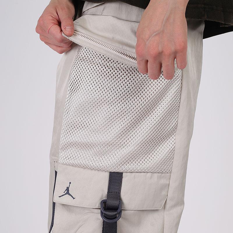 женские бежевые  брюки jordan utility CU4072-104 - цена, описание, фото 3