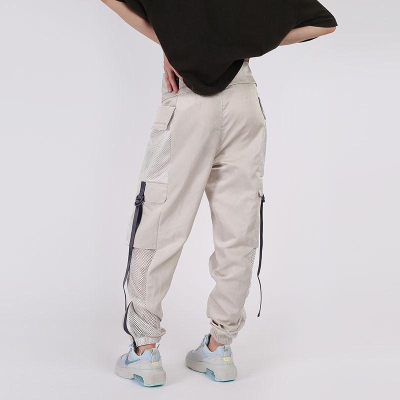 женские бежевые  брюки jordan utility CU4072-104 - цена, описание, фото 2