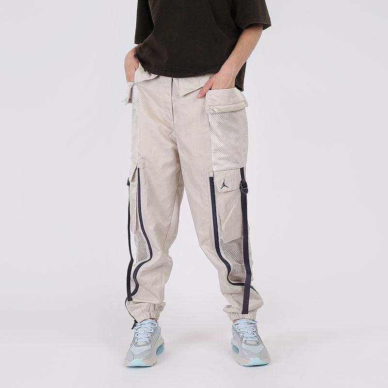 женские бежевые  брюки jordan utility CU4072-104 - цена, описание, фото 1