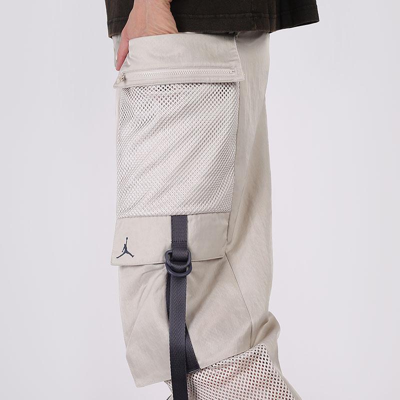 женские бежевые  брюки jordan utility CU4072-104 - цена, описание, фото 5