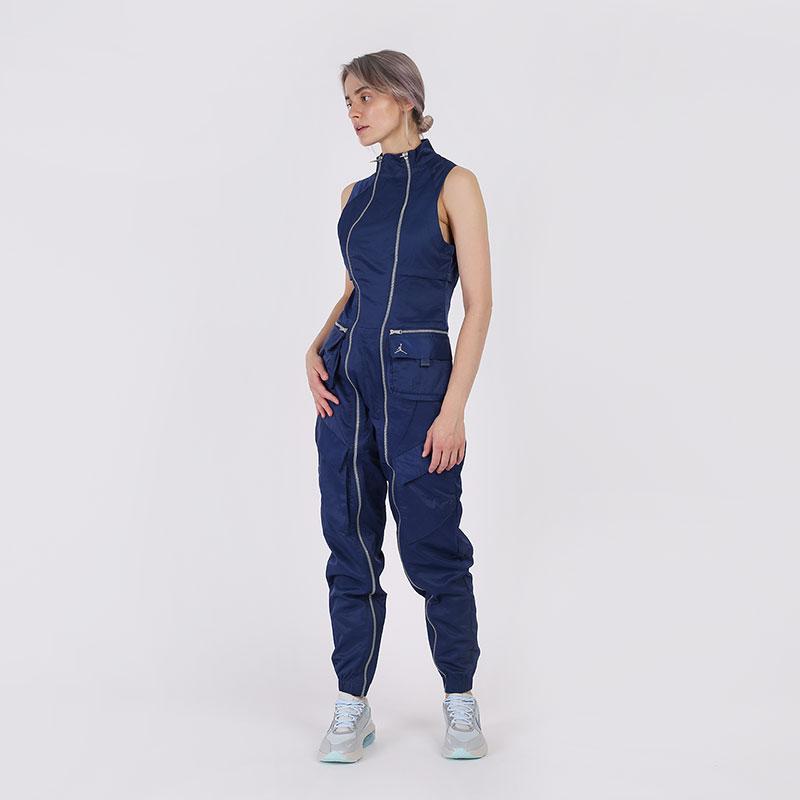 женский синий  комбинезон jordan flight suit CU6314-414 - цена, описание, фото 2