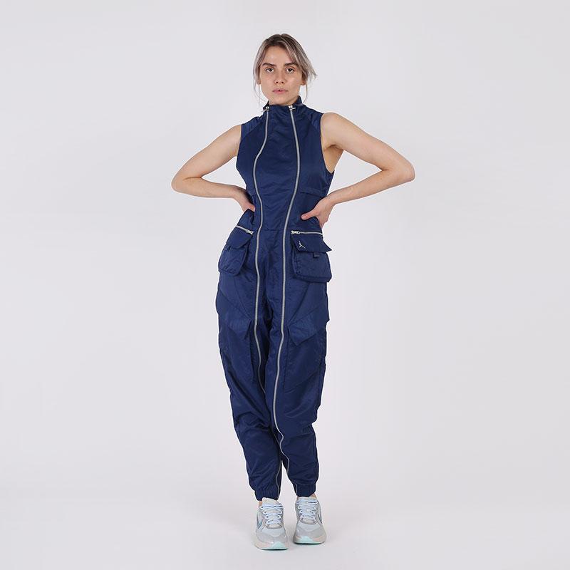 женский синий  комбинезон jordan flight suit CU6314-414 - цена, описание, фото 1